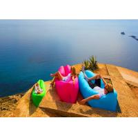 Buy cheap Bench Longe Lazy Bag Inflatable Sleeping Bag Camping Hangout Air Sofa For Travel Hiking from wholesalers