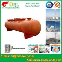 Buy cheap Alloy steel 50 ton boiler spare part mud drum for chemical industry ORL Power TUV from wholesalers