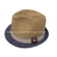 Buy cheap Fashion Natural wheat Straw Hat hot selling men's hat from wholesalers