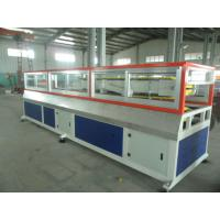 Buy cheap Decorative Floor WPC Profile Production Line , 160kg/h - 280kg/h from wholesalers