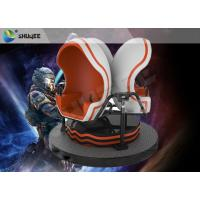 Buy cheap Unobstructed Veiw 9D VR Cinema Interactive Dynamic Simulator Egg Mould product