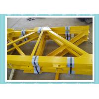 Buy cheap Steel Structure Tower Crane Mast Section Construction With Shot Blast from wholesalers