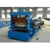 Buy cheap Tapered Standing Seam Metal Roof Roll Forming Machine 5.5kw Hydraulic Cutting Type from wholesalers