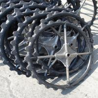 Cheap price 660 MM Kubota transplanter tires with rim solid rubber wheels for sale | agricultural tyres and wheels