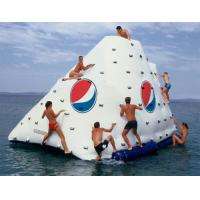 Buy cheap Business Logo / Slogan Printed Iceberg For Inflatable Water Games In Park And Sea Shore from wholesalers