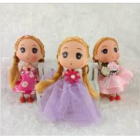 Buy cheap Eco - Friendly Bobby Doll Toys for Girls , Plastic Cartoon Dolls with Lace from wholesalers