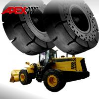 Buy cheap APEX Wheel Loader Solid Tire for 15.5-25, 17.5-25, 18.00-25, 20.5-25, 23.5-25, 26.5-25, 29.5-25, 29.5-29, 35/65-33 from wholesalers