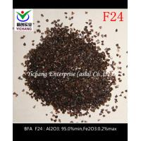 Buy cheap F24 F500 Brown Aluminum Oxide Al2O3 For Abrasive Media from wholesalers