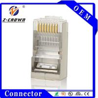 Buy cheap China Factory Cat5e Cat6 Cat7 Stranded/ Solid Network Cable Gold Plated Connectors product