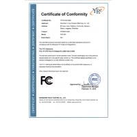 Shenzhen jingxiecheng hardware co,.ltd Certifications