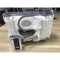 Buy cheap White / Grey Lower Back Compression Belt Pu Leather Surface Light And Portable from wholesalers