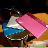 Buy cheap Credit card power bank with 1500mah from wholesalers