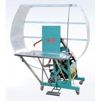 Buy cheap semi-automatic high speed corrugated carton binding andd strapping machine from wholesalers