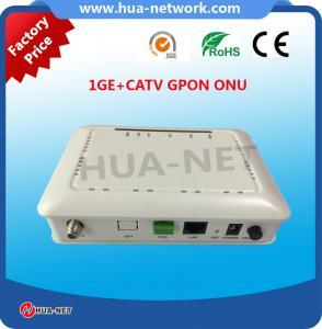 Buy cheap Single fiber CATV ONU 1GE+CATV GPON ONU/ONT FTTH ONU/Fiber optic ONU product