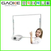 "Buy cheap Fast Respond Speed 87"" Dual Touch Operation Interactive White Board for Schools from wholesalers"