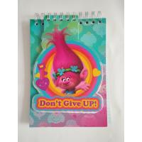 Buy cheap School stationery cool spiral notebooks with trolls collection / notebook writing pads for kids from wholesalers