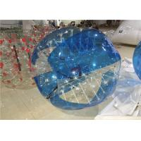Buy cheap Blue 1.5mm PVC Adult Hamster Ball , Bubble Ball Human Zorb Ball 1.5m from wholesalers