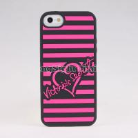 Buy cheap Silicon Case For iPhone 5 with love desgin from wholesalers