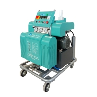 Buy cheap 2020 new portable moveable Hydraulic polyurea spray machine  industrial spray foam insulation from wholesalers