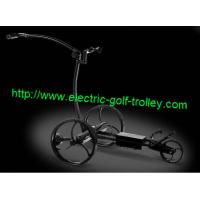 Buy cheap Remote Stainless steel golf trolley wireless electric golf Trolley from wholesalers