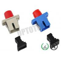 Buy cheap CATV / FTTH Fiber Optic Adapter / Plug No Shutter , Fiber Optic Cable Connectors from wholesalers