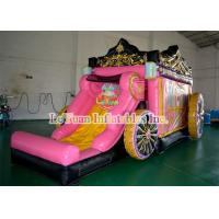 Buy cheap Original Inflatable Princess Bouncy Castle White Snow Moonwalk For Party from wholesalers