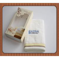 Buy cheap hot sale good quality customized heat transfer printing cotton gift towels product