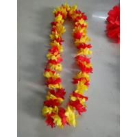 Buy cheap Wholesale High Quality color party  Supplies Wreathe Lei Promotional Decoration Monochrome Hawaii Flower Necklace Lei from wholesalers