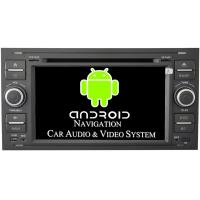 Buy cheap In Dash DVD GPS Ford Focus Car Stereo Radio 2004 - 2007 Color Silver Black Optional from wholesalers