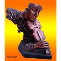 Buy cheap Resin artist sculpture from wholesalers