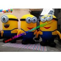 Buy cheap PVC Coated Nylon Advertising Inflatables Replica Minion Inflatable Minion Model product