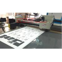 Buy cheap Rigid Foamed PVC Forex Expansion PVC Flatbed Digital Sample Cutter Plotter from wholesalers