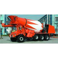 Buy cheap 8X4 Concrete Transit Mixer 6m3 Agitating Capacity For Building Construction from wholesalers