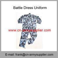 Buy cheap Wholesale Cheap China Military CVC Army Police Working Training Overall Uniform from wholesalers