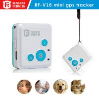 Buy cheap Super mini RF-V16 personal GPS Tracker sos communicator hidden for Car Cats,Pets, Dog,Goods standby 12days from wholesalers