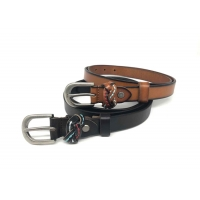 Buy cheap Retro Pin Buckle 2.3cm Womens Genuine Leather Belt For Jeans from wholesalers