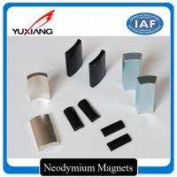 Buy cheap Rare Earth Motor Custom Made Magnets Arc NdFeb Magnets For Cleaning Machine from wholesalers