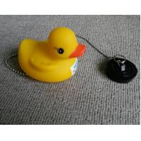 Buy cheap Non Phthalate Pvc Bathtub Water Stopper  , Toybathtub Drain Stopper With Rubber Duck from wholesalers