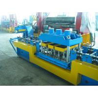 Buy cheap Durable 1.5-2mm Galvanized  Steel Door Frame Cold Roll Forming Equipment ,PLC Control Automatic from wholesalers
