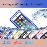 Buy cheap Classic High Quality Waterproof Protective Case for iPhone 6 and iPhone 6 Plus from wholesalers