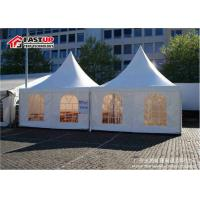 Buy cheap Second Hand Pagoda Party Tent For Cafe Shops Weather Proof Environment Friendly from wholesalers