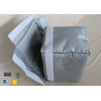 Buy cheap Silicone Coated Fiberglass Fabric Actuator Thermal Insulation Jackets Materials from wholesalers