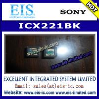 Buy cheap ICX221BK - SONY - Timing Generator for Frame Readout CCD Image Sensor product