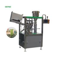 Buy cheap Adjustable Speed Tube Filling Sealing Machine Vertical Cosmetics Cream 850kg product