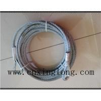Buy cheap Sell  wire rope sling with thimble in both ends product