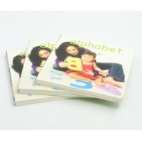 Buy cheap Hardcover Baby Alphabet Memory Book Offset Printing Service Art Paper Cover from wholesalers
