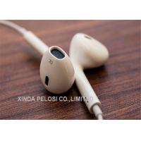 Buy cheap Original Iphone Earphones , White Apple Earpods With Remote And Mic product