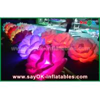 China Romantic  Inflatable Lighting Decoration / LED Inflatable Flowers Chain Rose For Wedding on sale