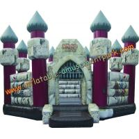 Buy cheap Custom Tarpaulin Commercial Inflatable Bouncy Castle for Adults from wholesalers