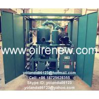 Buy cheap Weather Proof Vacuum Transformer Oil Filtration System | Insulating Fluids Purifier ZYD-W from wholesalers